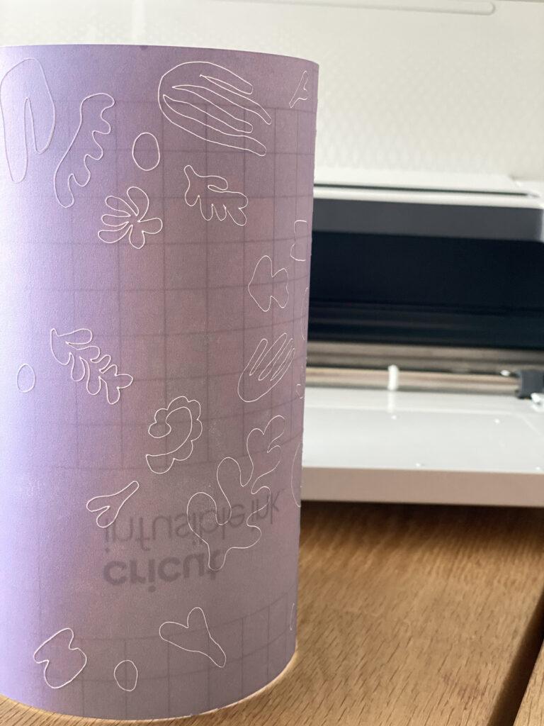 test machine transfer easypress papier pochette coton