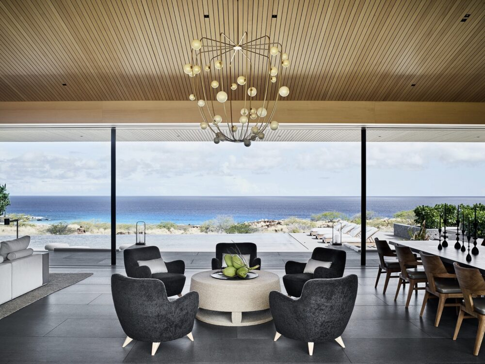 villa Kua Bay Hawai architecture vue plage mer