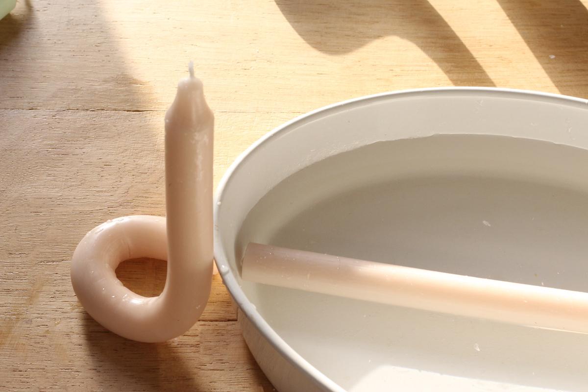 comment tordre facilement bougies personnalisées original