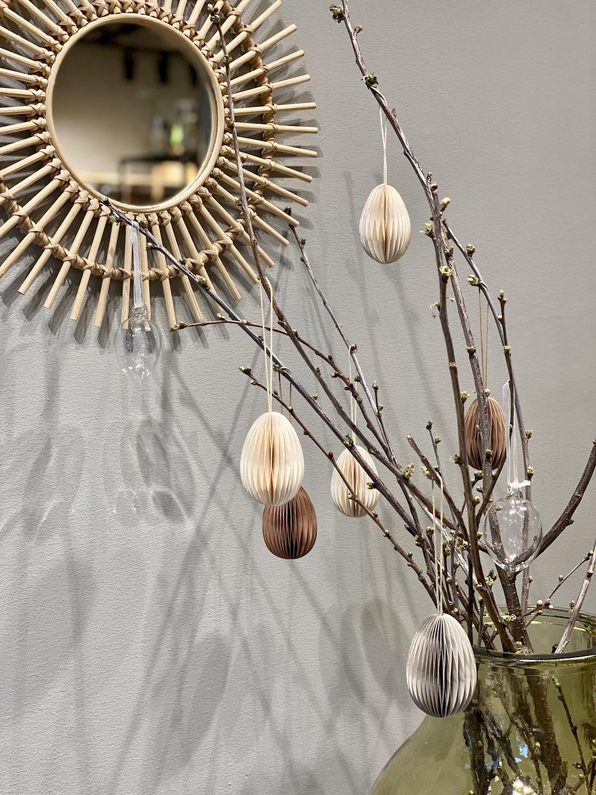 décoration minimaliste diy scandinave Pâques élégante