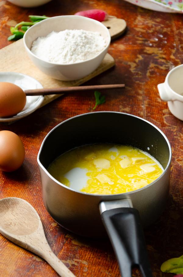 ingrédient gougère farcie pâte à choux apéritif