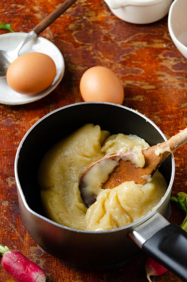 pate à choux cuisson casserole
