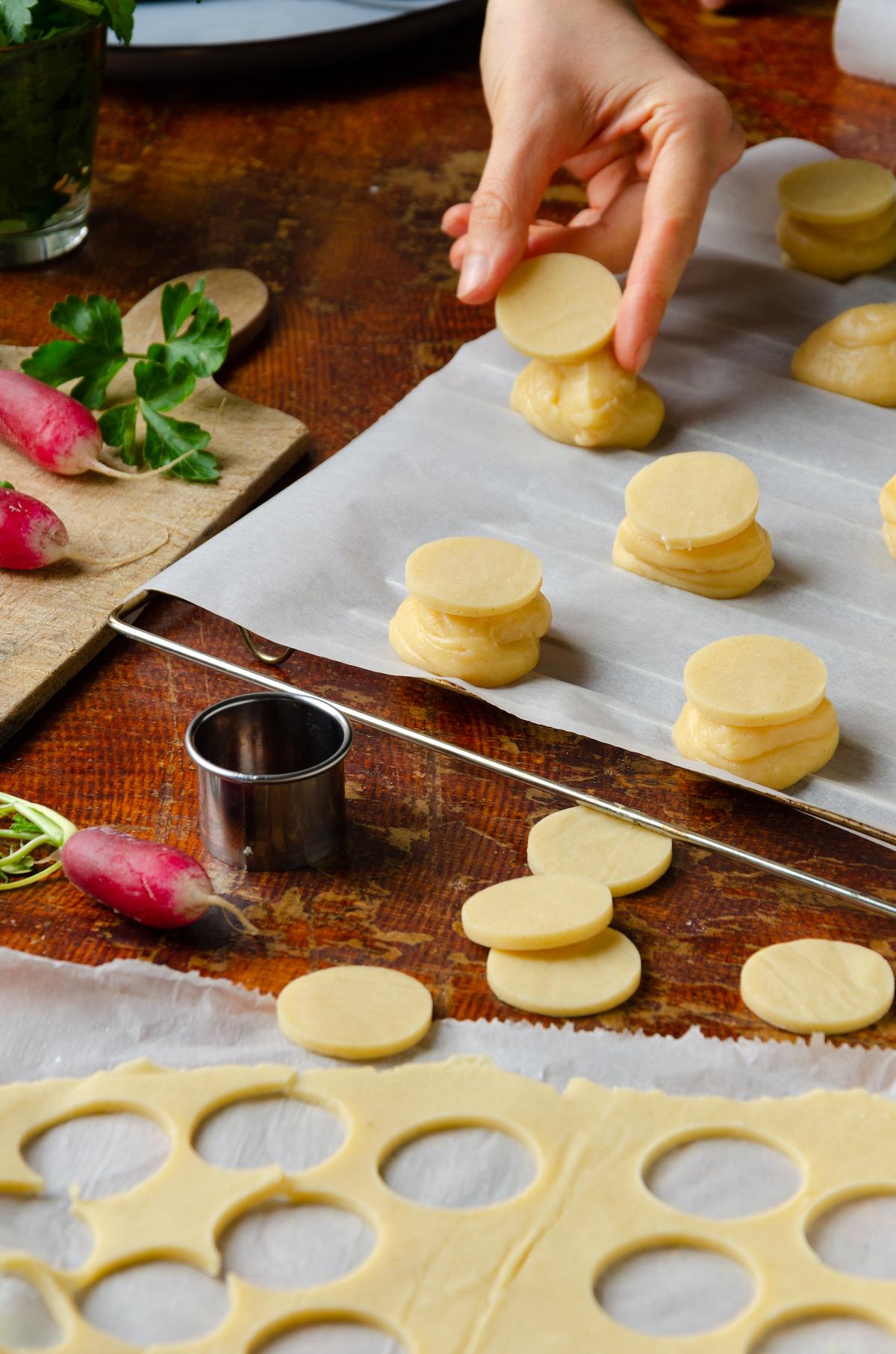 préparation recette gougère farcie thon saumon fumé