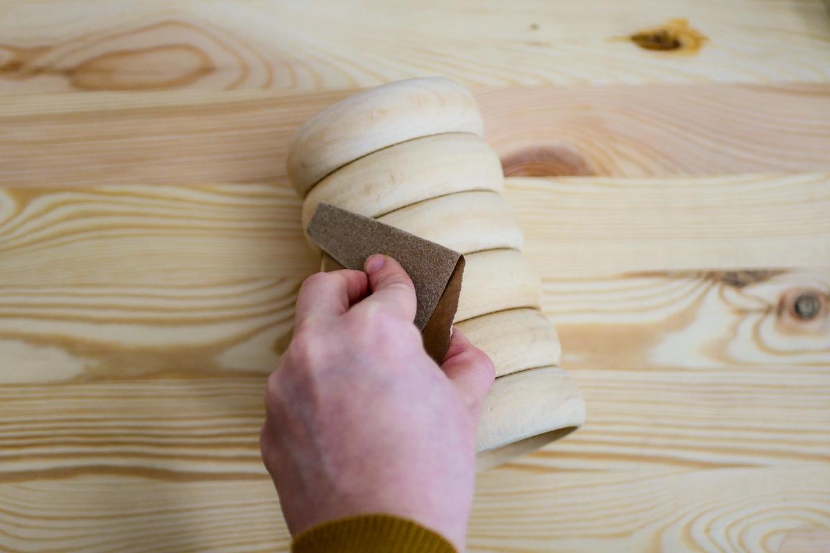 que faire avec ancien anneau bois tringle rideau