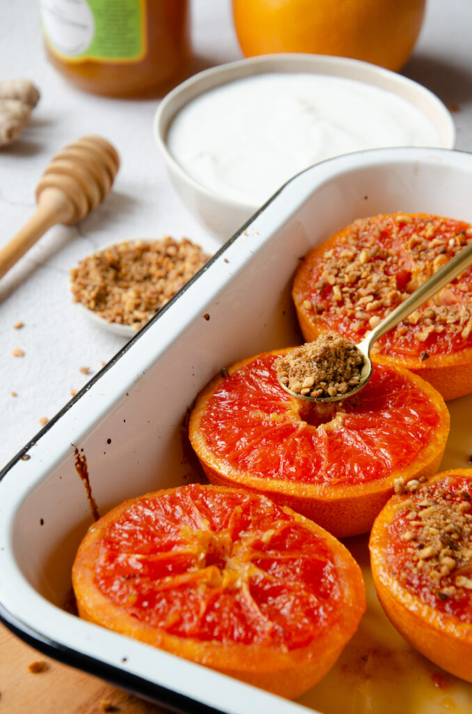 recette agrume de saison - blog clem around the corner