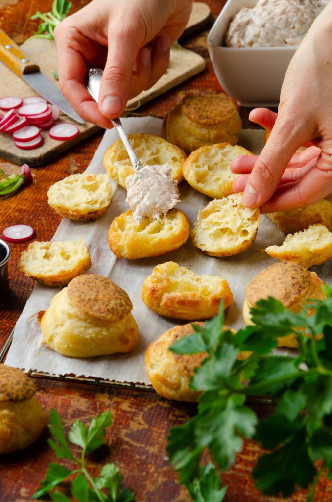 recette buffet froid estival chic petit four