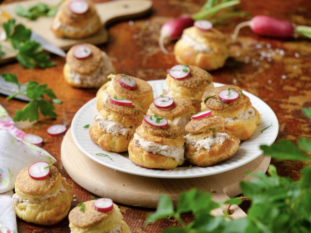 recette gougère farcie apéritif - blog cuisine maison