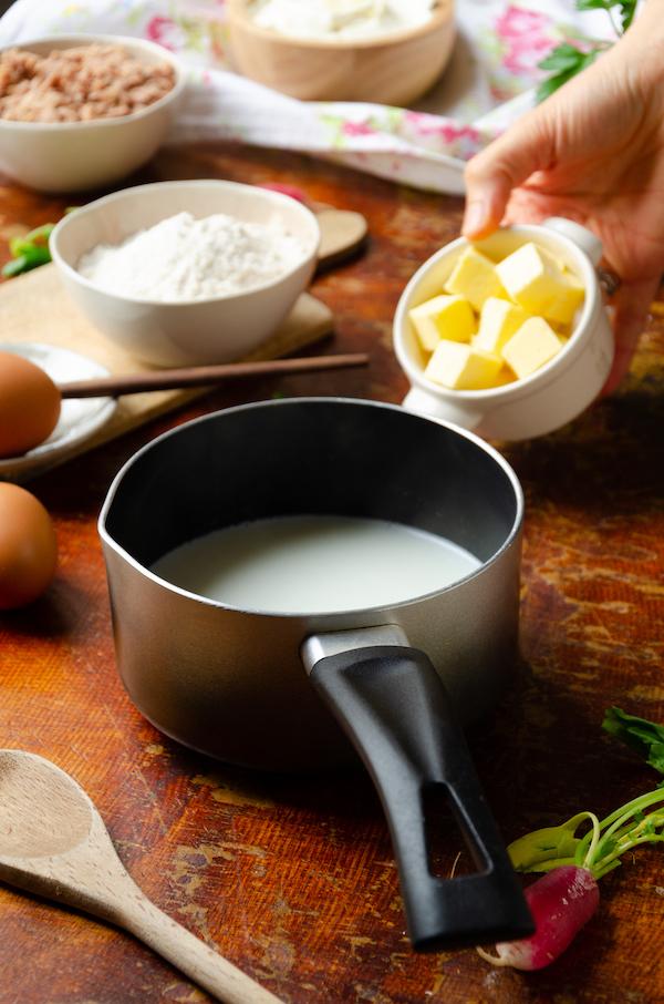 technique top chef cuisiner choux salé apéritif