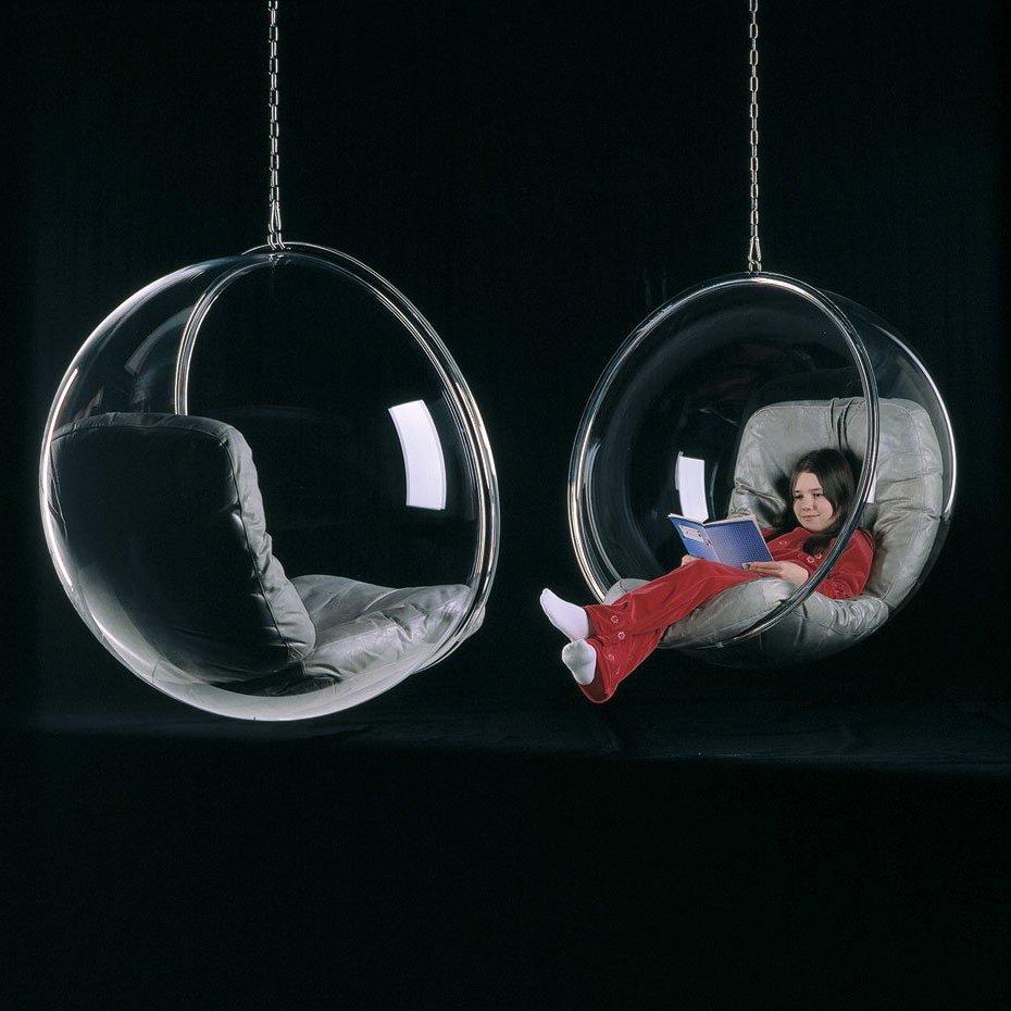chaise futuriste chambre enfant cocon original - blog déco - clemaroundthecorner