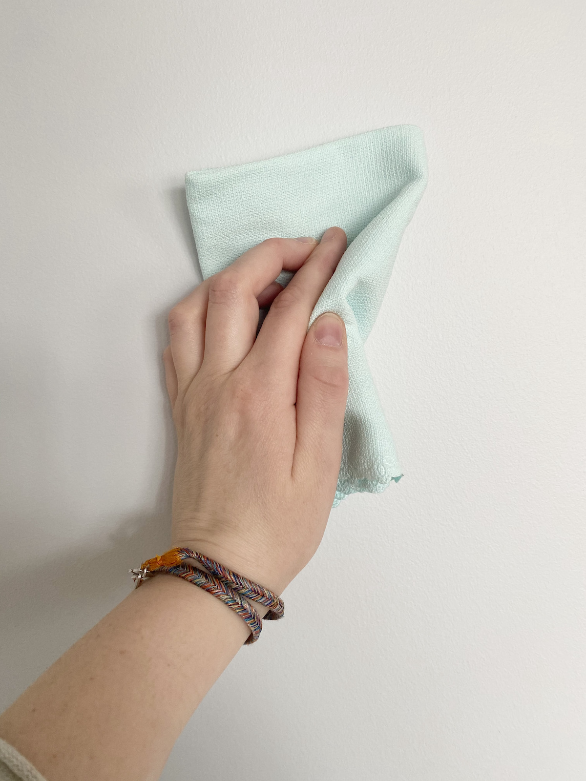 nettoyer facilement mur chifonnette microfibre h2o
