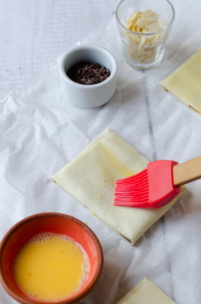 technique dorure jaune oeuf viennoiserie dessert fait-maison