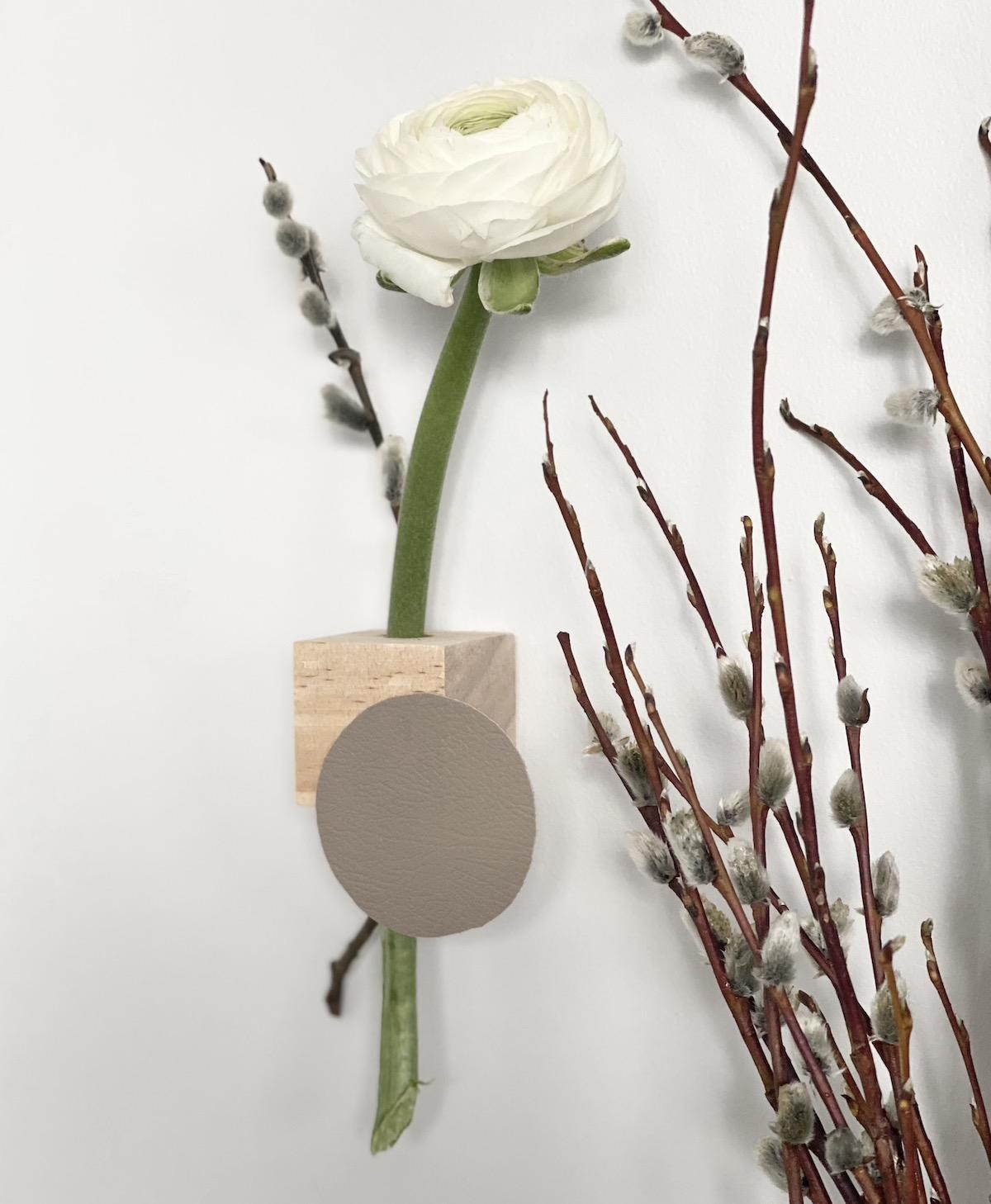 vase suspendu à faire soi-même mural