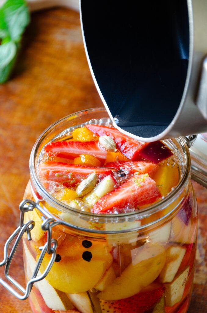comment fermenter fruit pickles rapidement