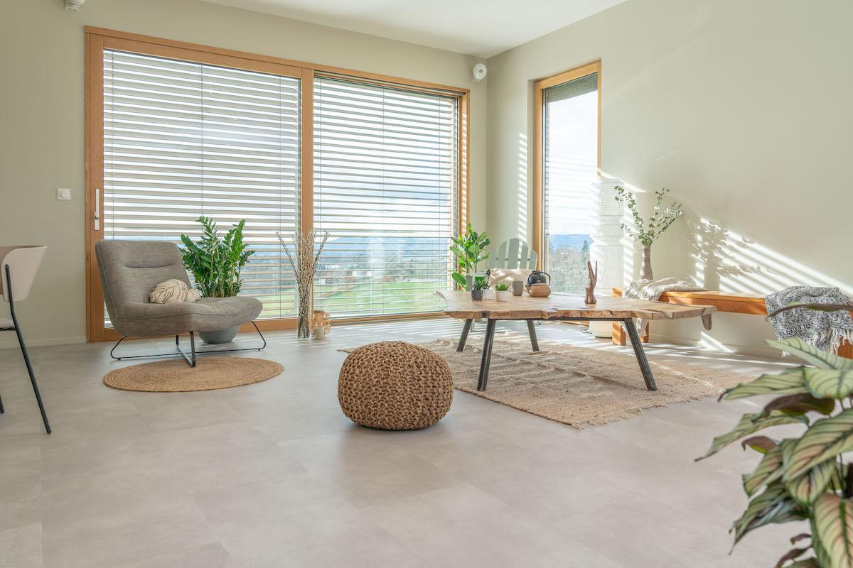interieur séjour slow life minimaliste japandi décoration