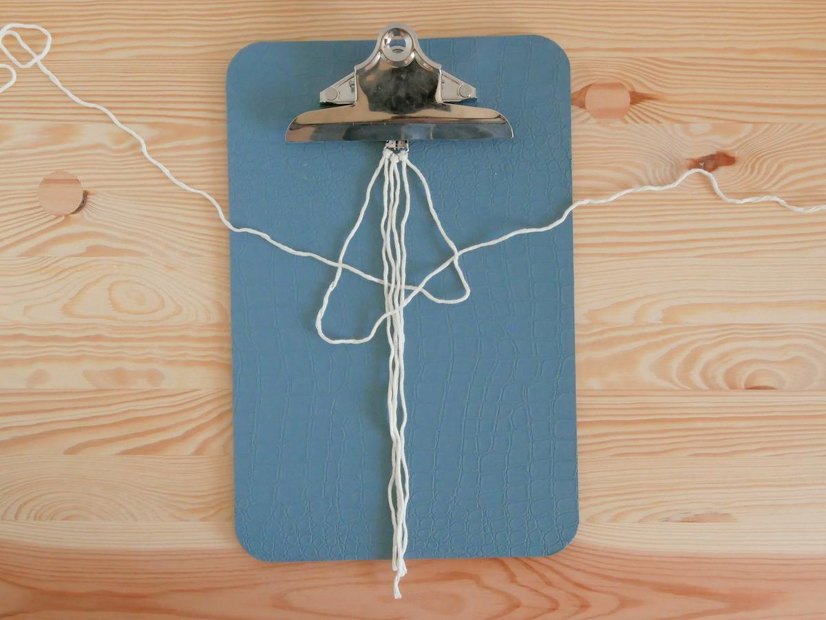 noeud plat corde schéma facile