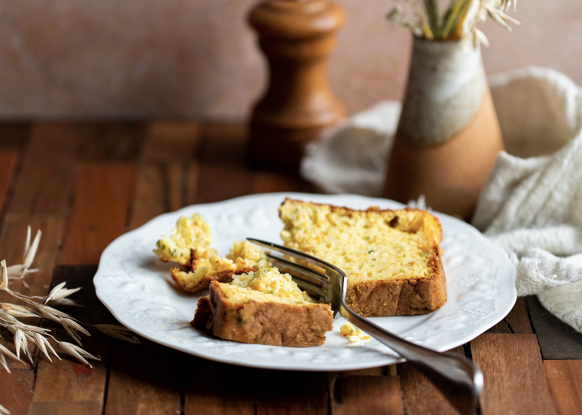 recette cake courgette - blog cuisine maison clem around the corner