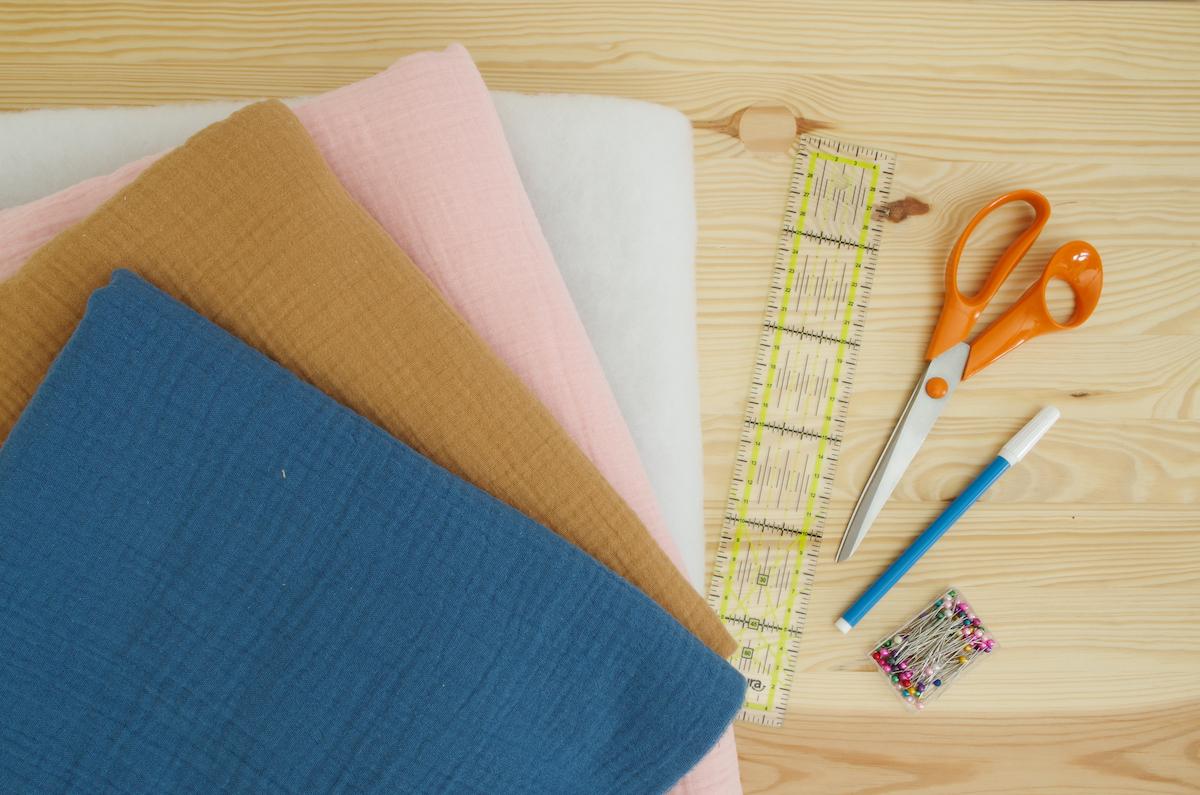 tapis d'éveil fait main pour bébé diy couture matériel nécessaire
