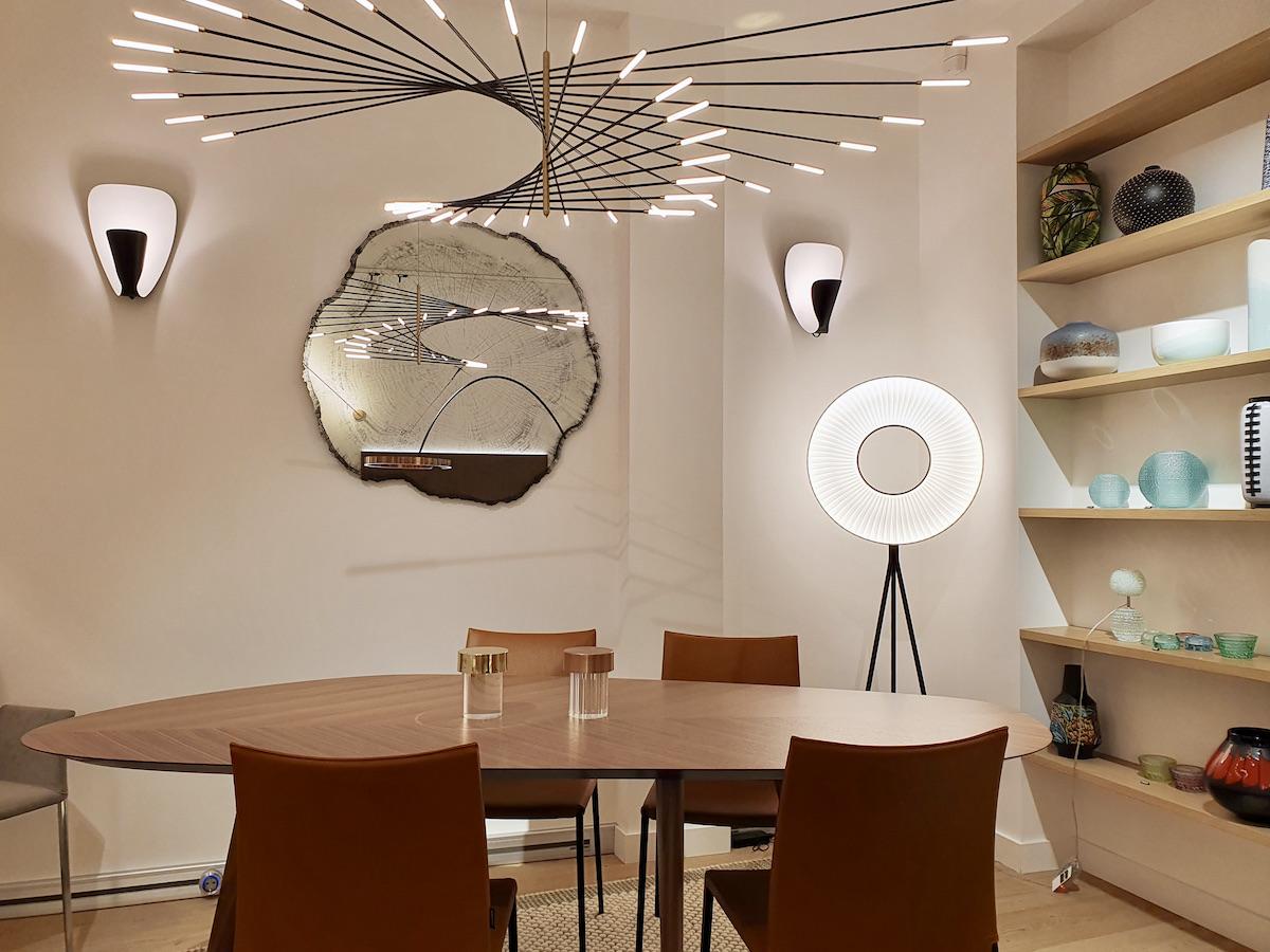 boutique magasin meuble haut de gamme design scandinave danois Paris 7