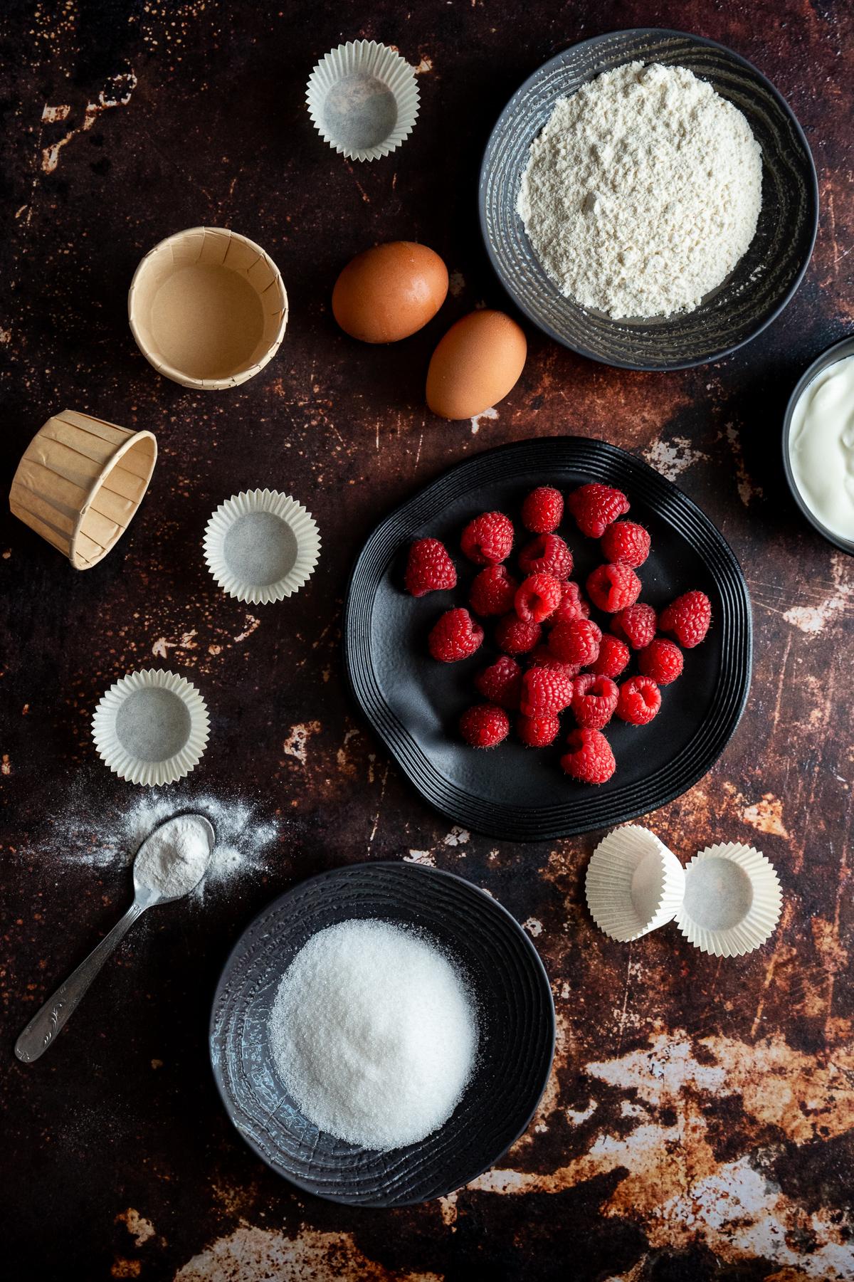 ingrédients recette cuisine dessert framboise yaourt grec