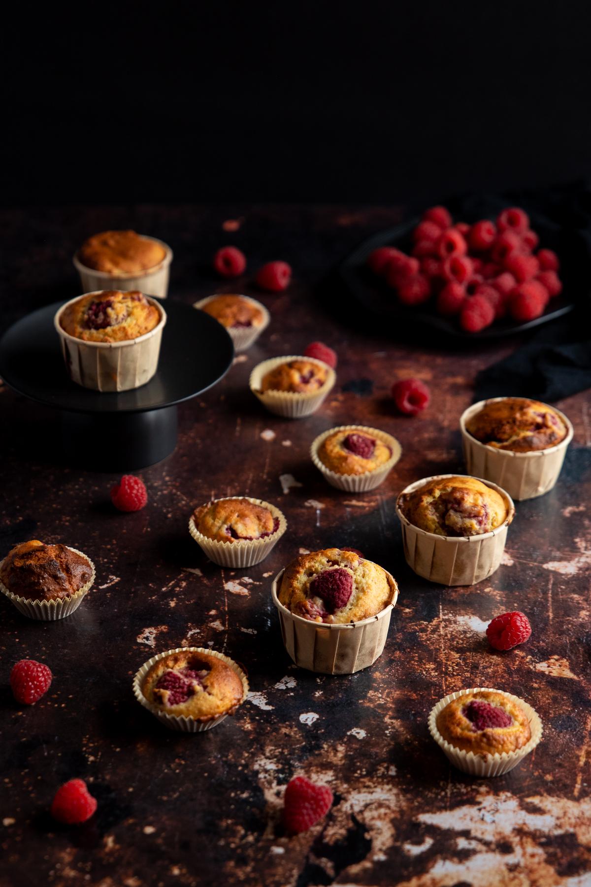 recette muffin yaourt framboise mascarpone facile