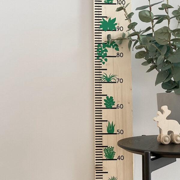 tuto Cricut Maker 3 toise végétale vinyle noir vert