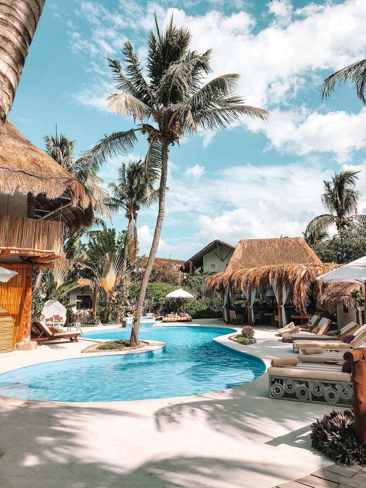 hotel de rêve pas cher bungalow piscine privée