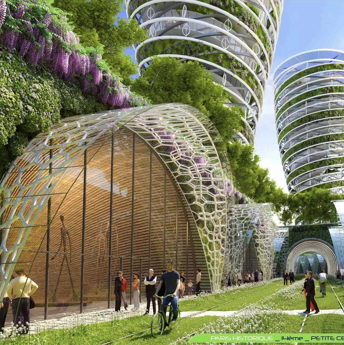 Paris Smart City 2050 projet petite couronne plan climat architecture