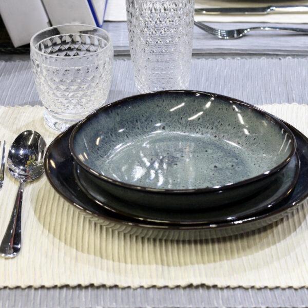 table estivale blanche bleue - blog déco - clem around the corner