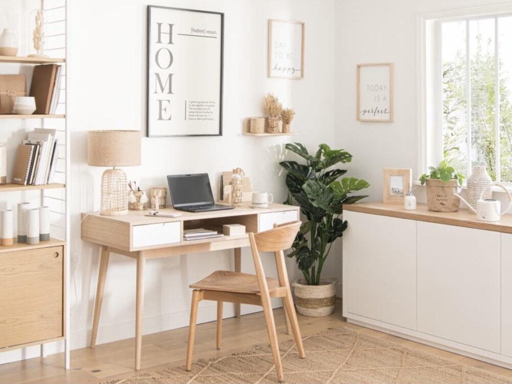 chambre d'amis bureau aménagement espace - blog déco - clem around the corner