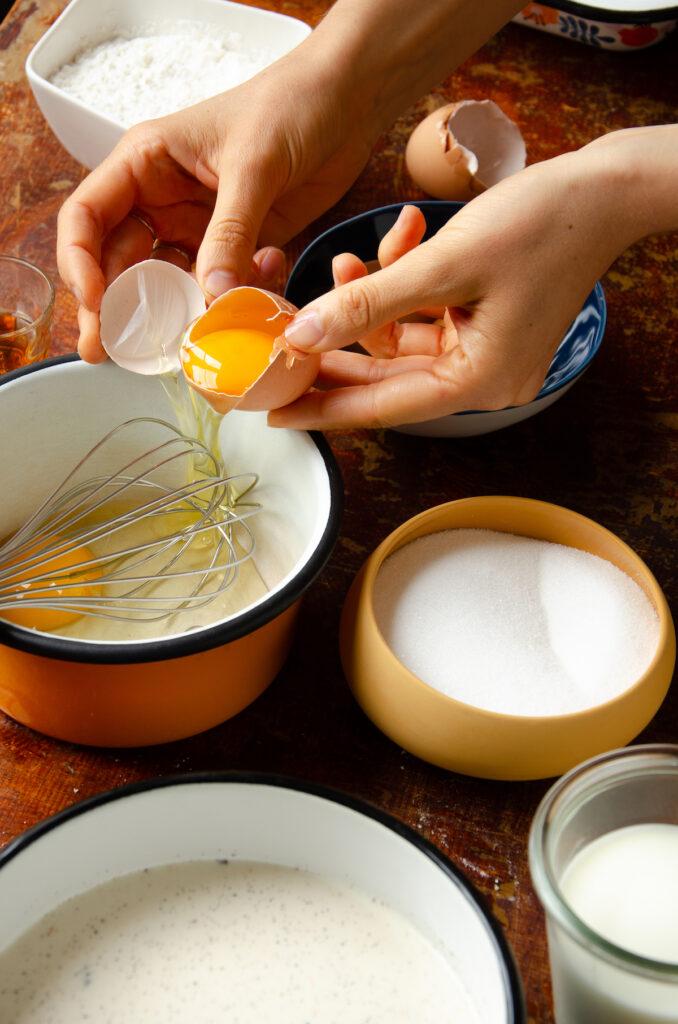 comment faire flan pâtissier abricots frais du marché
