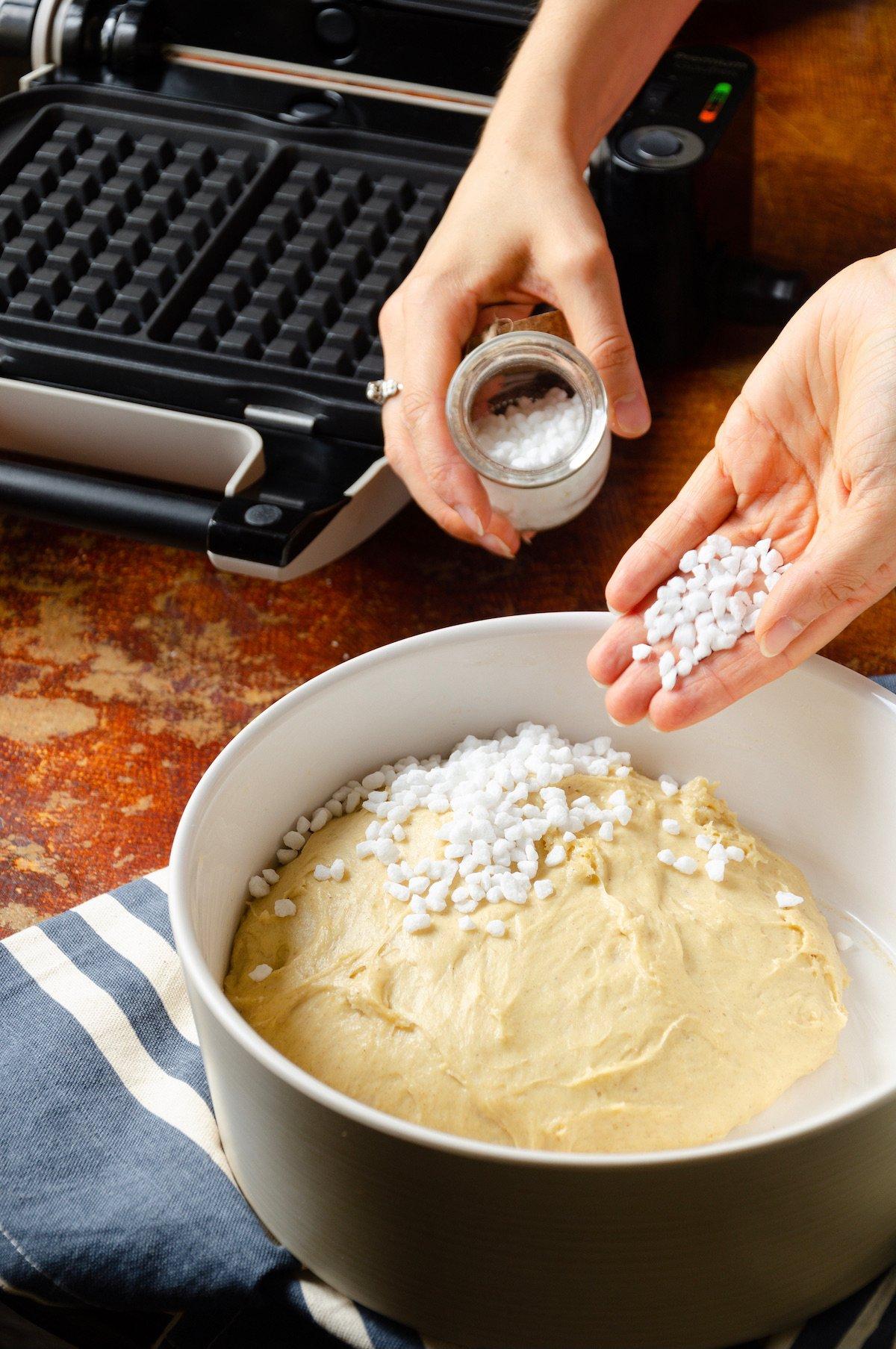 idée recette gouter pique-nique viennoiserie fait-maison sucre perle