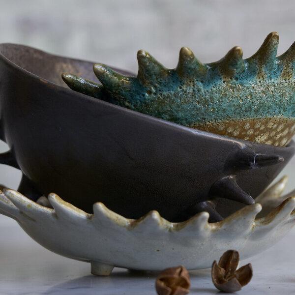 objet déco en céramique de vallauris vide-poche - blog décoration clem