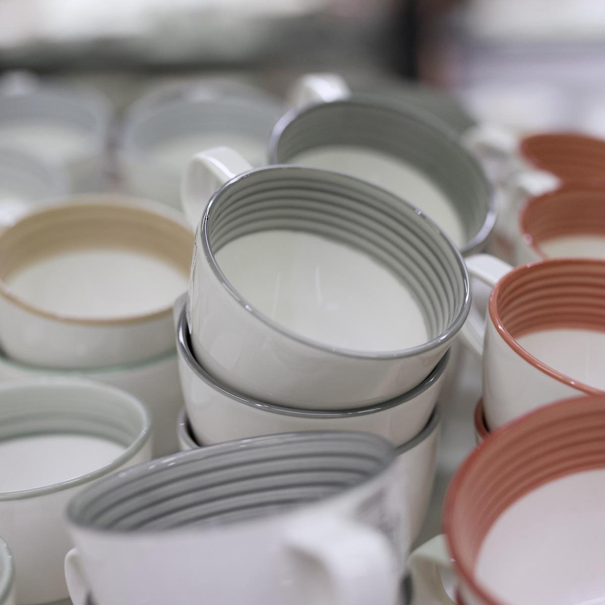 préparer la rentrée vaisselle mug rayure - blog déco