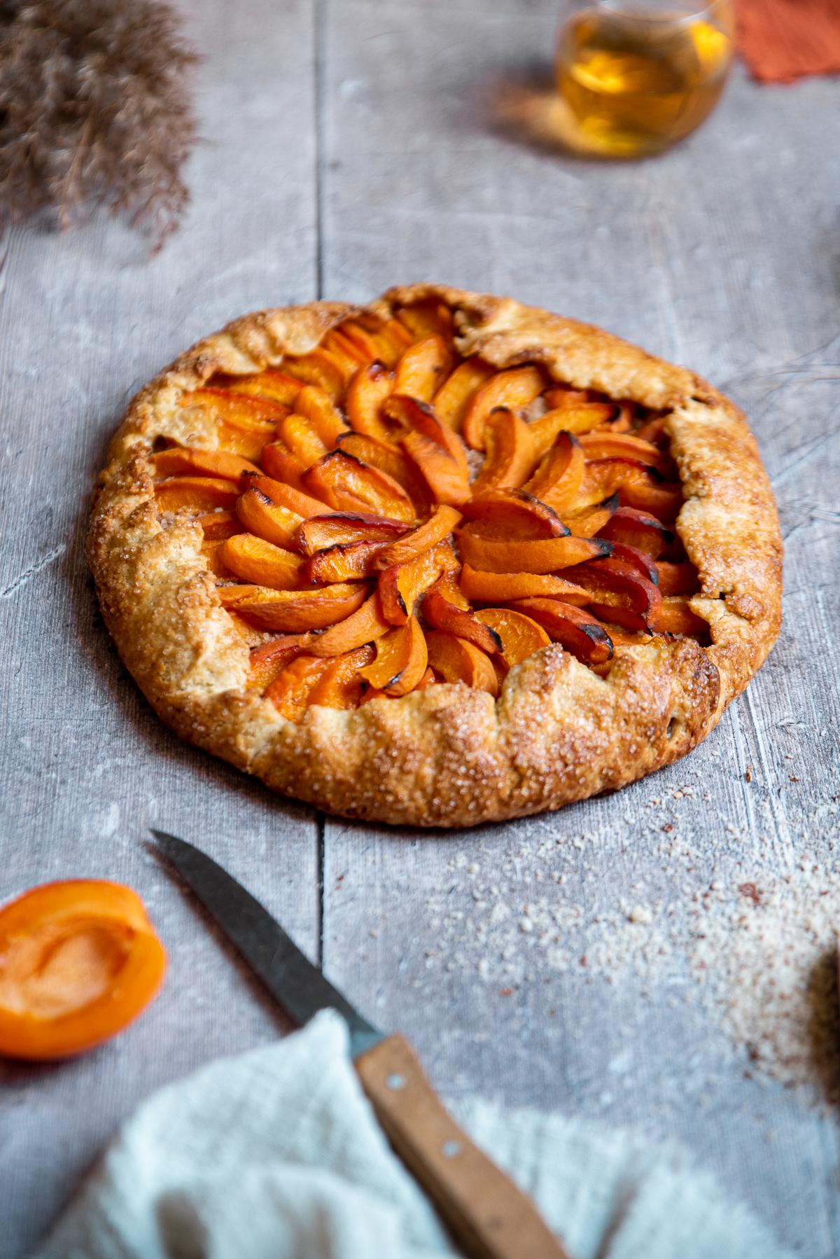 recette tarte abricot amande facile dessert gourmand de saison