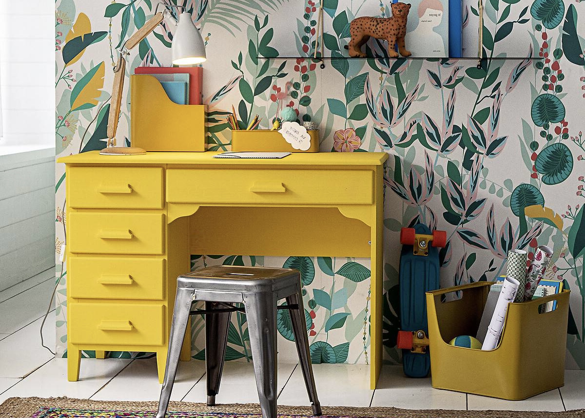 astuce conseil aménager un espace travail chambre enfant